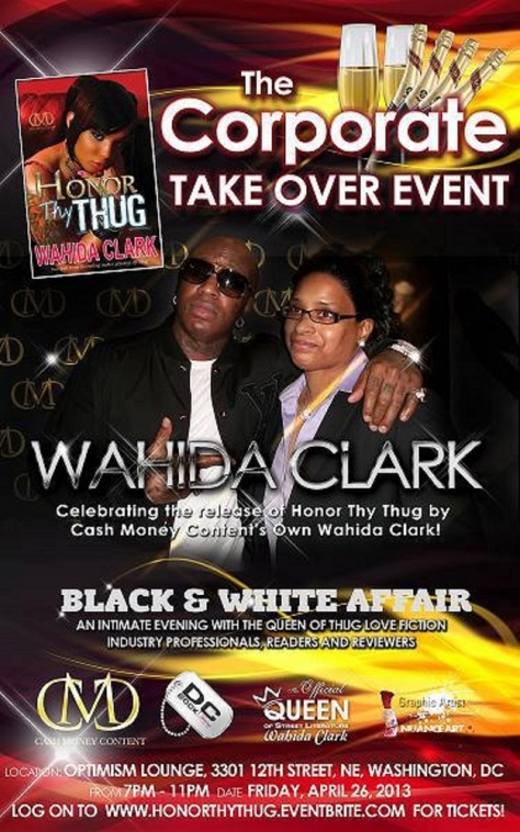 DC: Join Us Friday For The Corporate Takeover Event w/ Wahida Clark!