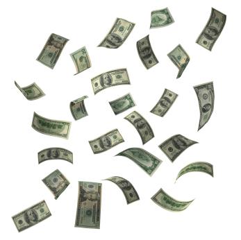 money-flying-bills-air